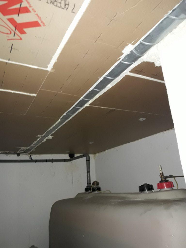 Isolation plafond de cave Alsace