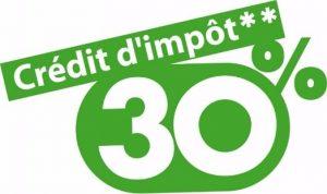 credit impot 30%